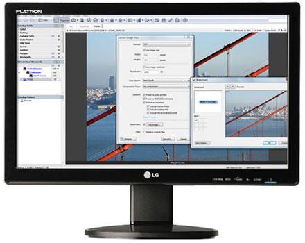 Monitor LCD LG N224WHA