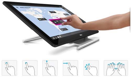 Touchscreen Dell P2314T