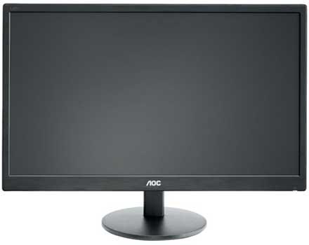 Monitor LED AOC E2470SWHE
