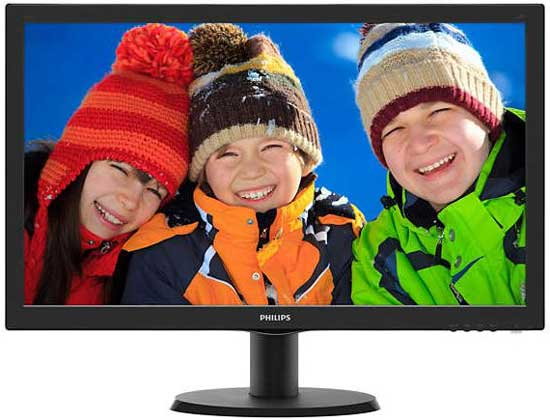 Monitor LED Philips 243V5QHAB