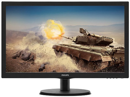 Monitor LED Philips 223V5LSB-62