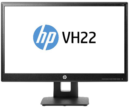 Monitor LED HP VH22
