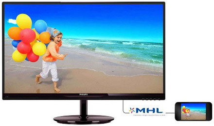 Monitor LED Philips 274e5qhsb-00