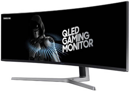 Monitor LED Samsung LC49HG90DM